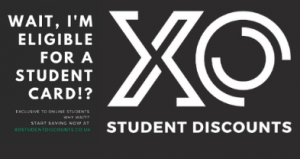XO Student Discount Card