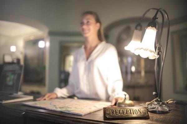 Hotel Receptionist and Opera PMS